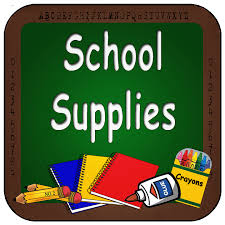 Kindergarten Supply List 2020-2021