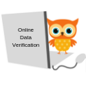 Online Data Verification logo