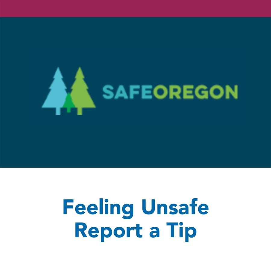 Feeling Unsafe - Report a Tip