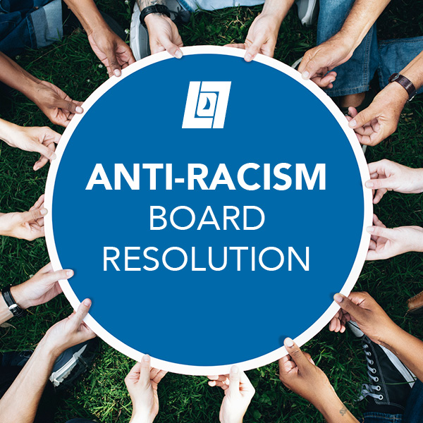 Anti-Racism Board Resolution
