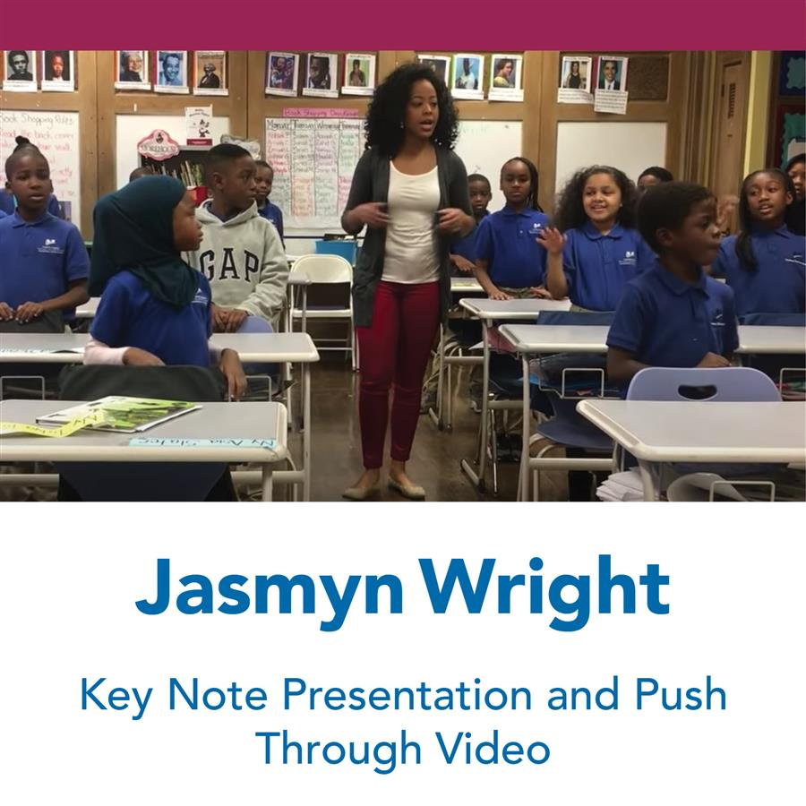 Jasmyn Wright Keynote and Video