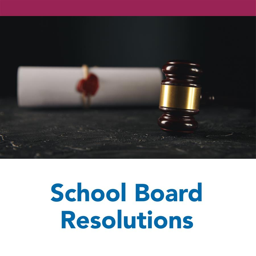 School Board Resolutions