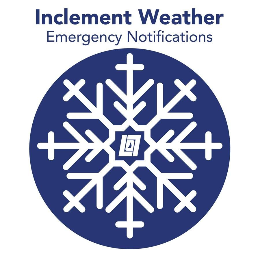 Inclement Weather - Emergency Notifications