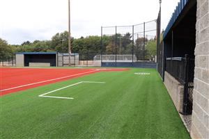 artificial turf softball field at Lake Oswego Junior High