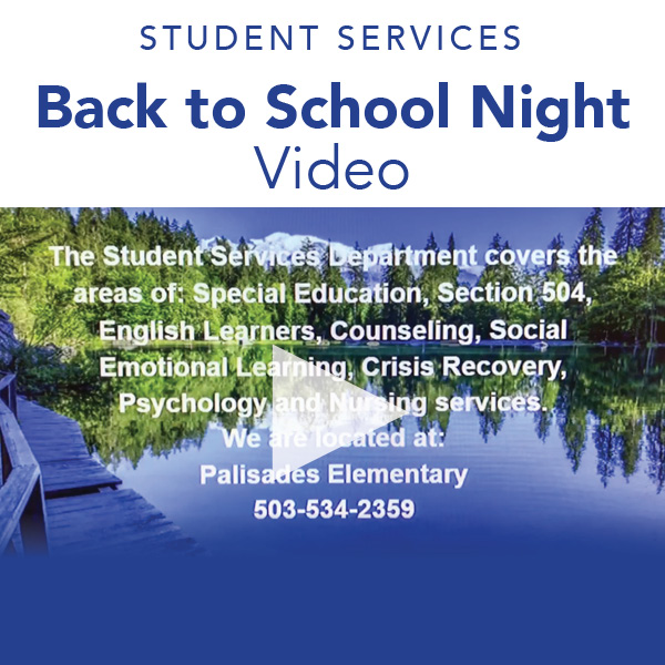 Student Services Back to School Night - Video