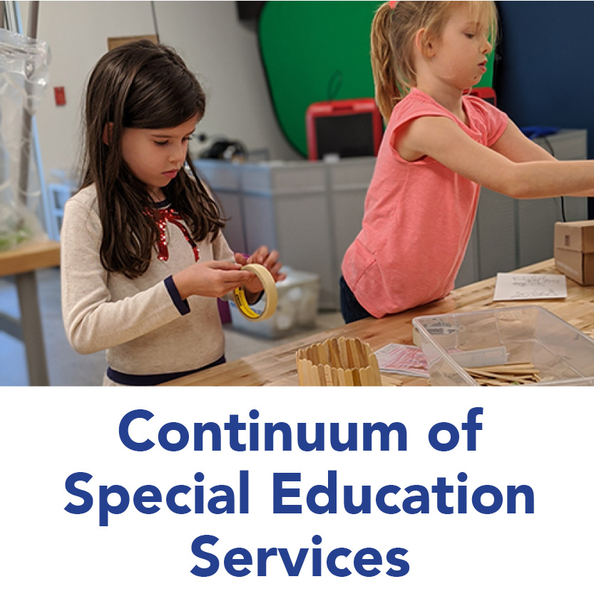 CONTINUUM OF SPECIAL EDUCATION SERVICES