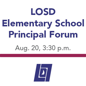Elementary Principal Forum Meeting and Presentation